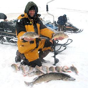 Зимняя рыбалка для планшета
