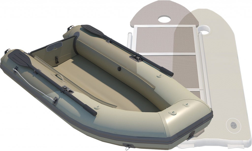 лодка без палубы