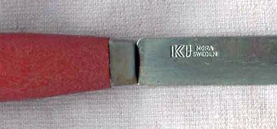 шведский армейский нож производства KJ Eriksson