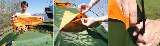 палатки Envision