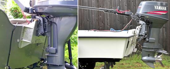 как правильно установить мотор на лодку воронеж