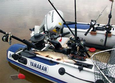 рыбалка с лодки пвх транцевые