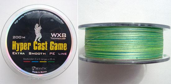 Отзыв о плетёном шнуре Hyper Cast Game