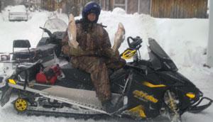 Гусеница Camoplast на снегоходе Ski-Doo