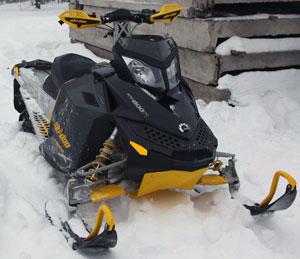 снегоход с гусеницей Challenger-Trail 9070С