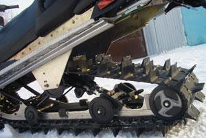 Гусеница Camoplast на снегоходе Yamaha RS Venture TF